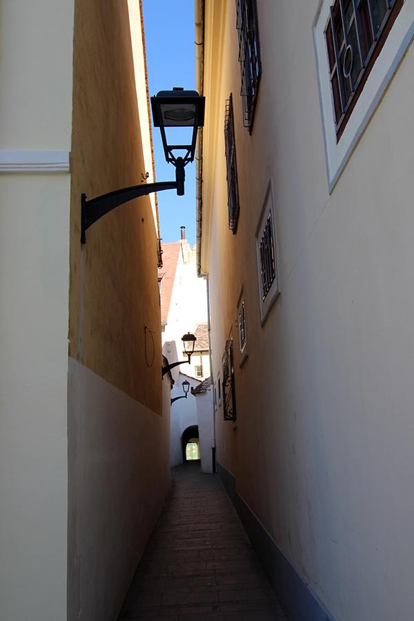 Gasse in Sibiu
