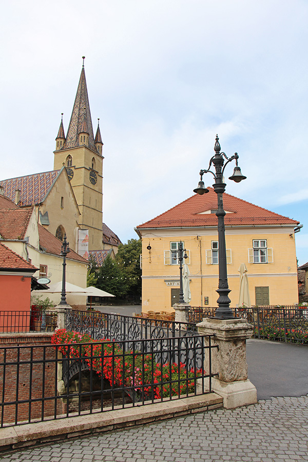 Lügenbrücke in Hermannstadt / Sibiu