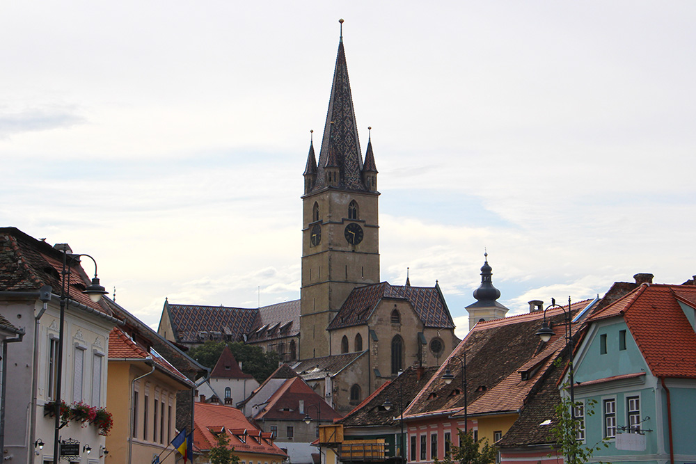 Ratsturm in Sibiu
