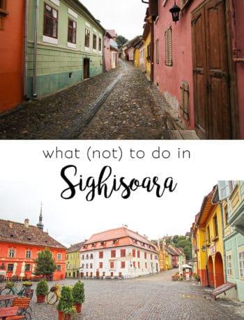 Sighisoara Tipps für Schässburg in Rumänien
