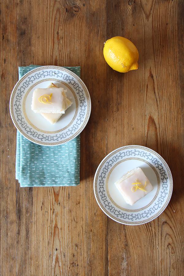 Veganer Zitronenkuchen - Rezept