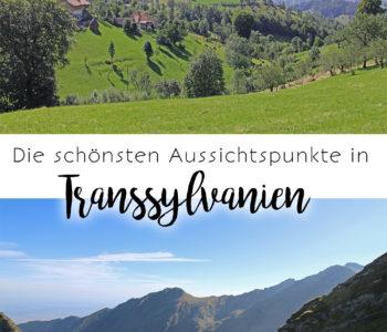 Die schönsten Aussichtspunkte in Transsylvanien / Siebenbürgen in Rumänien