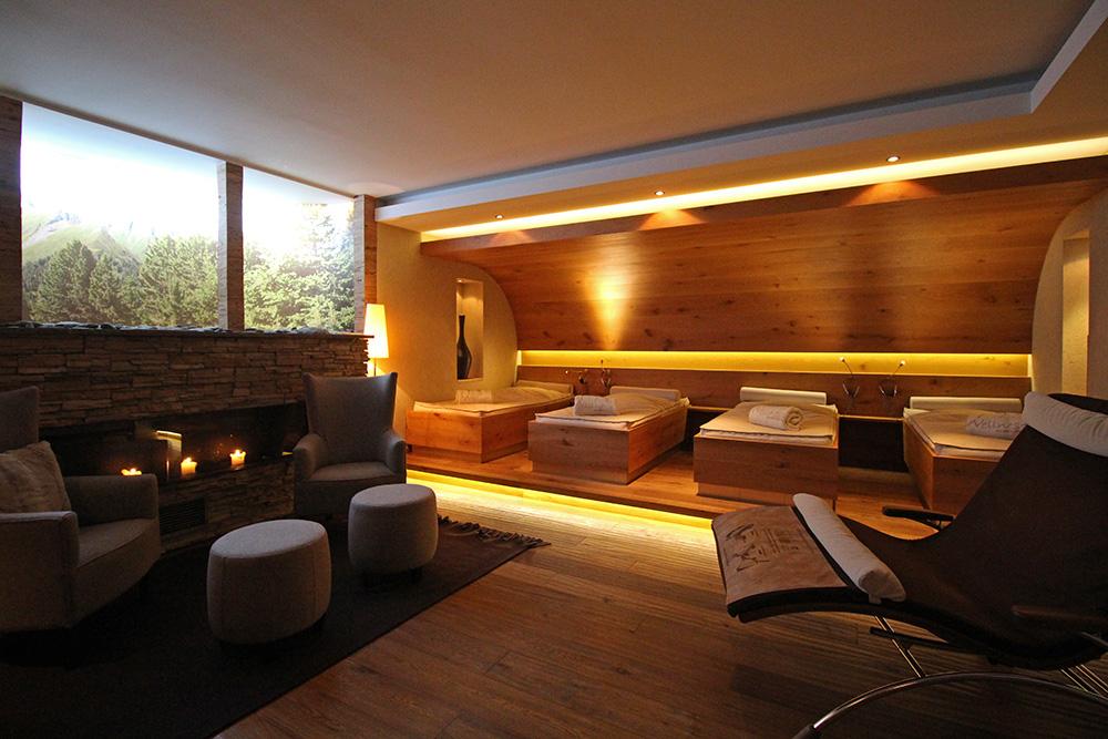 Spa im Hotel Chesa Monte