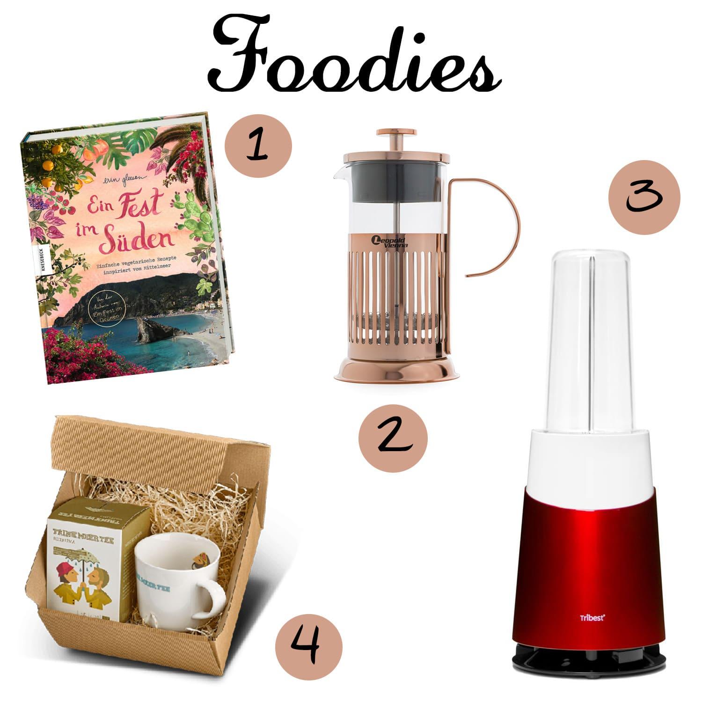 Leckere Weihnachtsgeschenke für Foodies