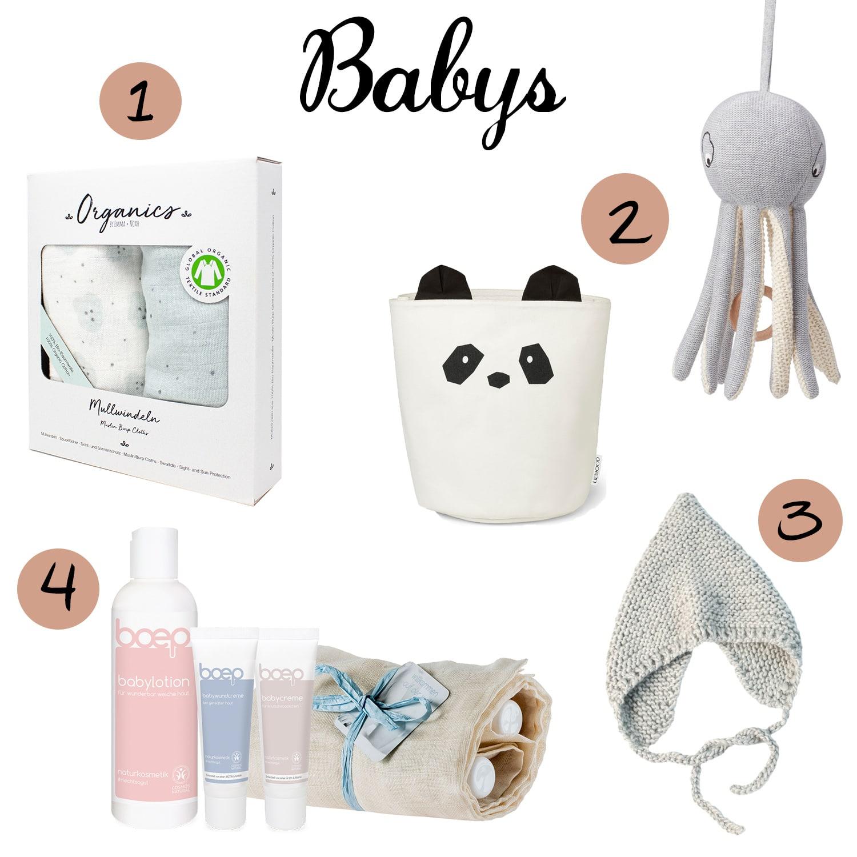 Weihnachtsgeschenke für Babys oder Kleinkinder