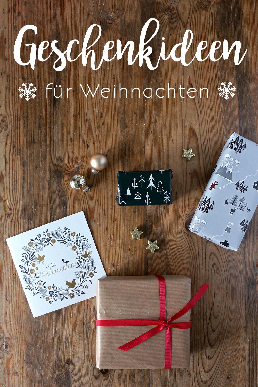Geschenke zu Weihnachten, Ideen für Weihnachtsgeschenke