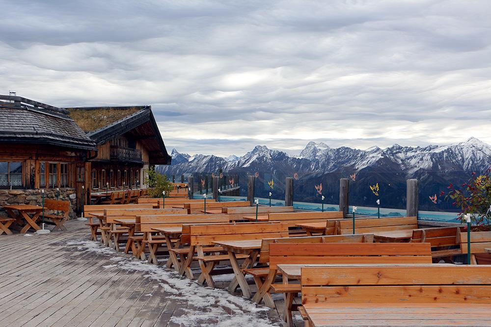 Lazid Hütte / Alm am Murmeltiersteig