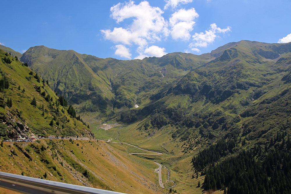Aussichtspunkt Transfagarasan Panoramastraße in Rumänien