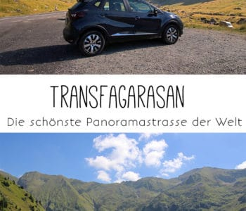 Panoramastraße Transfagarasan in Rumänien