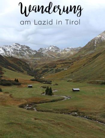 Wanderung am Lazid in Tirol, Murmeltiersteig