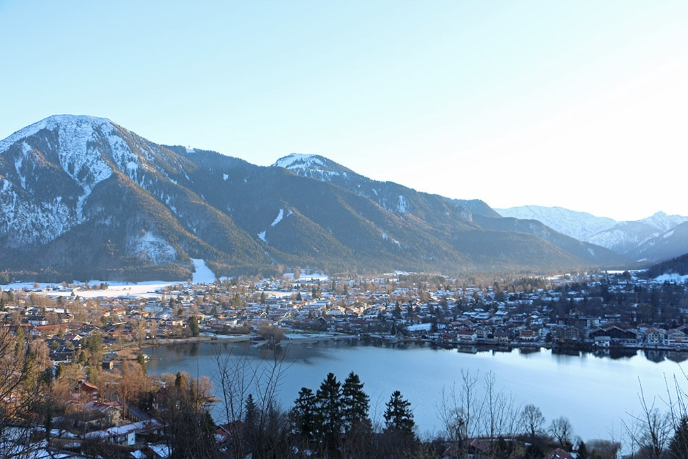 Winterwanderung am Tegernsee