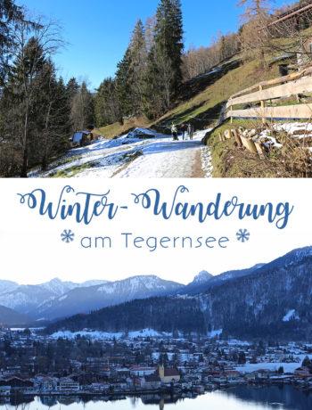 Winter-Wanderung am Tegernsee