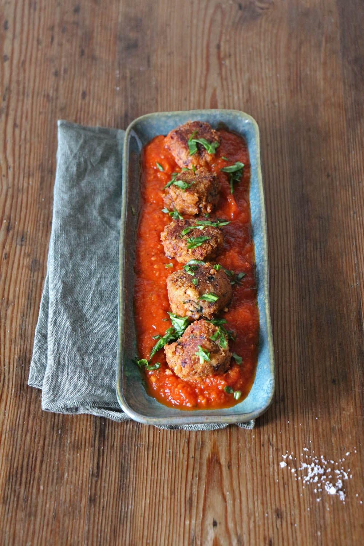 Albondigas - veganes Rezept