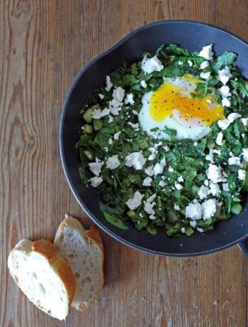 Grüne Shakshuka - vegetarisch oder vegan