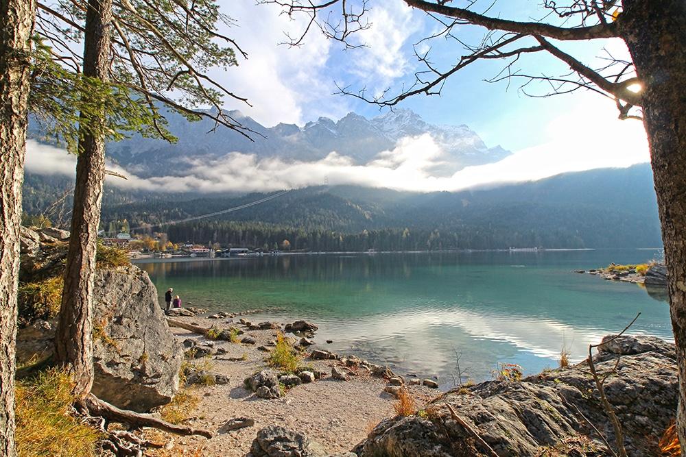 Eibsee und Zugspitze: Urlaub in Deutschland