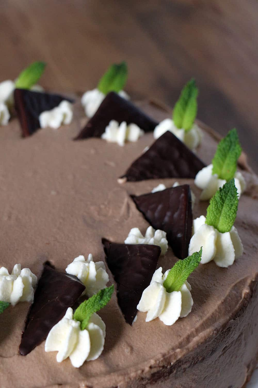 Schoko-Minz-Torte (After Eight)
