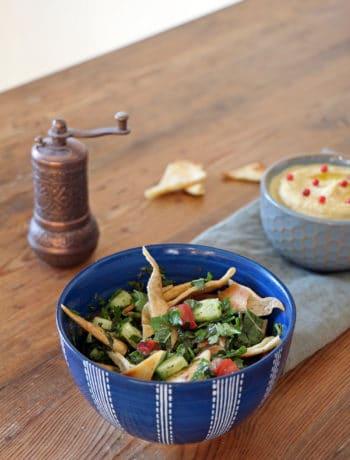 Fattoush - Fladenbrot-Salat aus dem Libanon
