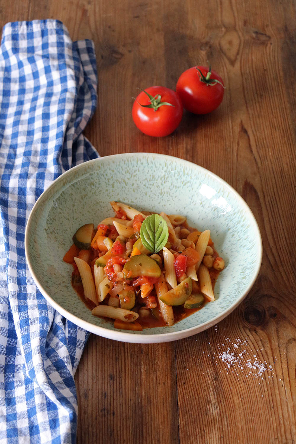 MINESTRONE MIT PENNE - Transglobal Pan Party