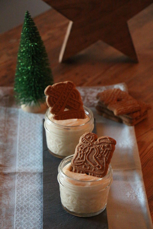 Veganes Spekulatius Dessert (Weihnachtsmenü) - Transglobal Pan Party
